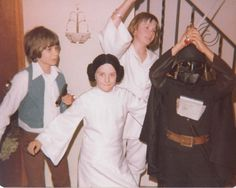 Vintage 1970's Homemade STAR WARS Costumes - News - GeekTyrant