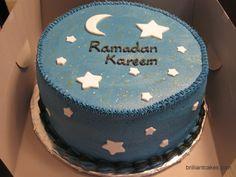 A wonderful design for Ramadan cake... Ramadan Kareem ۩ :)
