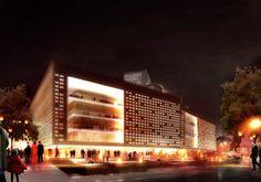 Gallery of Malmö Cultural Centre / Schmidt Hammer Lassen Architects - 4