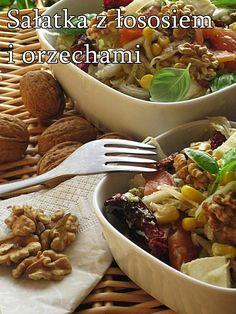 Przepisy na letnie sałatki - Damsko-męskie spojrzenie na kuchnię Mozzarella, Tacos, Salad, Beef, Chicken, Ethnic Recipes, Bulgur, Meat, Ox