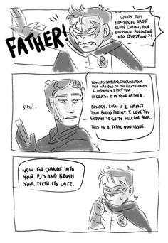 Based on a jason todd headcanon on tumblr 🙈🙈🙈 #batfamily