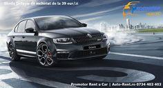 Skoda Octavia de la 39 eur/zi -> Promotor Rent a Car | Auto-Rent.ro