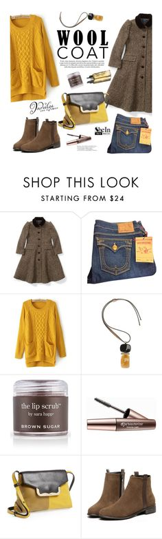 """Cold Weather Essentials: Wool Coat"" by mada-malureanu ❤ liked on Polyvore featuring Ralph Lauren, True Religion, Marni, Garance Doré, Sara Happ, Imju Fiberwig, See by Chloé, Sheinside, woolcoat and shein"