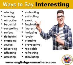 English Vocabulary Words, English Phrases, Learn English Words, English Writing Skills, English Lessons, English Projects, Learning English, English English, English Grammar
