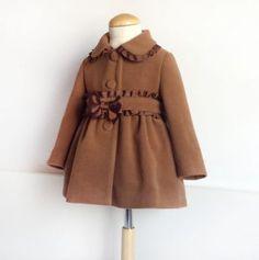 Patrón de abrigo para niña