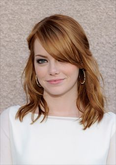 Emma Stone Red and blonde hair I wanna try this look next summer!:)