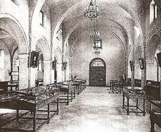 "Alamo Museum interior From ""Monuments Commemorating the Centenary of Texas Independence"", State of Texas, 1938 The Alamo, Texas History, Local History, Alamo San Antonio, Texas Bucket List, Austin Hotels, Western Comics, Santa Ana, San Jacinto"
