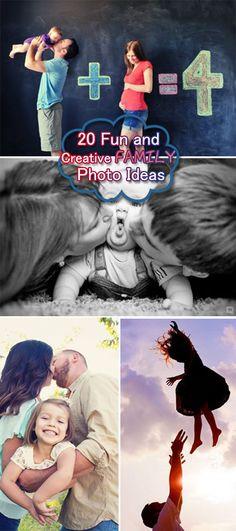 Fun and Creative Family Photo Ideas!