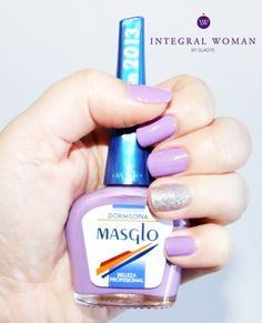 Manicura lila con Masglo #IntegralWomanbyGladys