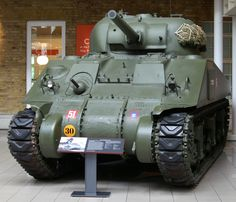 Sherman tank at the Imperial War Museum - Sherman - Wikipedia, the free encyclopedia Ww2 Veterans, Tank Armor, Sherman Tank, Model Tanks, Ww2 Tanks, Time Photo, Sports Pictures, Panzer, Toy Soldiers