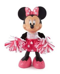 Fisher-Price Disney's Minnie Mouse Bowtique Cheerin' Minnie available at http://www.yutoys.com
