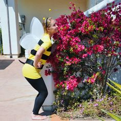 Bumble Bee Costume by Beverlys.com Work Appropriate Halloween Costumes, Halloween Fun, Thanksgiving Gifts, Flower Fairies, Spelling Bee, Bumble Bees, Steam Locomotive, Holidays, Wasp