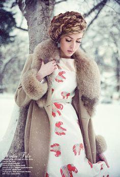 Winter Tale by Julia Kuzmenko McKim, via 500px