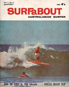 Surfabout - All Surf Magazines Retro Surf, Vintage Surf, Photo Wall Collage, Picture Wall, Surfing Pictures, Poster Wall, Surf Posters, Room Pictures, Surf Art