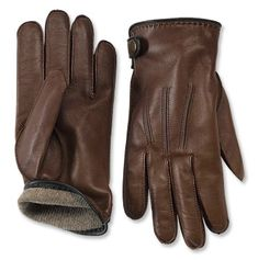 Subtly accented with our signature Battenkill dark green this men's full grain leather cashmere-lined glove is elegantly finished with an antiqued brass snap along the cuff. Brown Leather Gloves, Leather Men, Saddle Leather, Leather Wallet, Funny Happy Birthday Wishes, Cashmere Gloves, Funny Hats, Dress Gloves, Knitted Gloves