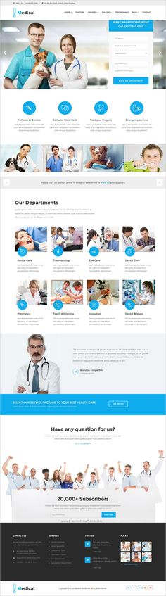 Medicool is a wonderful responsive 4in1 #WordPress theme for #health and #medical service #website download now➩ https://themeforest.net/item/medical-health-medical-wordpress-theme/18225756?ref=Datasata