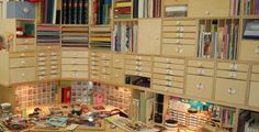 dream craft studio  I love this one, I have a craftroom, but this is so organized