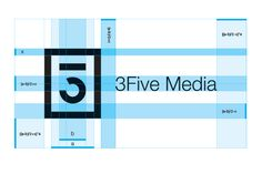 3Five Media Logo Design by Wiktor Malinowski