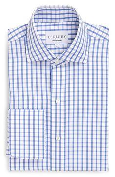 Ledbury 'Urbana' Classic Fit Check Dress Shirt