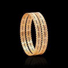 Bracelet Models - Ethnic & Pacheli Gold Bangle Designs Online - Zar Jewels - My Popular Photo Plain Gold Bangles, Gold Bangles Design, Gold Jewellery Design, Bangle Set, Bangle Bracelets, Necklaces, Gold Pendant, Pendant Jewelry, Gold Jewelry Simple