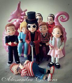 Willy Wonka Cake | Alessandra Caldeira