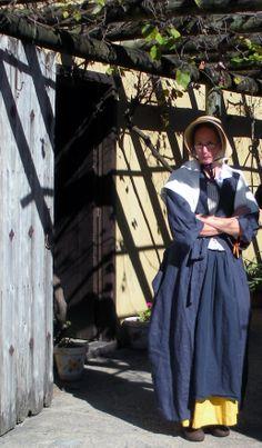 Lady at Grape Arbor