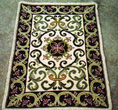 Resultado de imagem para arraiolos Villa Toscana, Magic Carpet, Textiles, Framed Art, Bohemian Rug, Needlework, Oriental, Art Pieces, Weaving