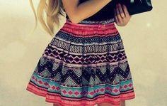 Pattern Skirt Fashions