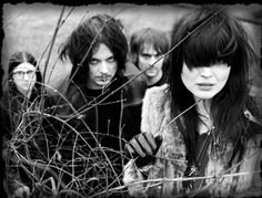 The Dead Weather...featuring two terrifically dynamic performers, Alison Mosshart from The Kills, and Jack White. Awesome collaboration!