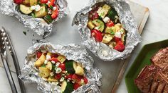 These fresh vegetable foil packets for your grillor ovenmake summer easy, just like it's supposed to be.