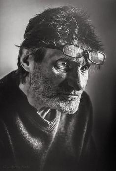 Robbe De Hert (1942) - Belgian film director. Photo © Jimmy Kets