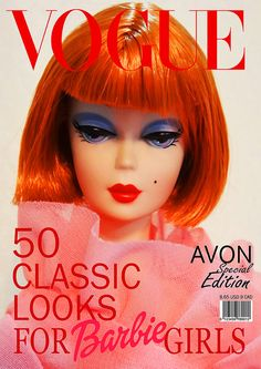 TAGGED: Create a Magazine cover for your favorite doll by possiblezen, via Flickr