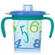 Shop for Evenflo Numbers Tilty Triple Flo Trainer Cup. Get free delivery On EVERYTHING* Overstock - Your Online Feeding Shop! Traveling With Baby, Travel With Kids, Best Baby Bottles, Cup With Straw, Working Mother, Big Kids, Sippy Cups, Trainers, Parenting