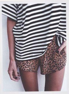 Stripes & panter