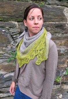 Knitting: Quaking Aspen Shawl