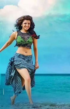 Kajal Aggarwal (born 19 June is an Indian film actress and model. One of the most popular Indian celebrities, she has established a career in the Telugu and Tamil film industries and has. Indian Celebrities, Bollywood Celebrities, Beautiful Celebrities, Beautiful Actresses, Beautiful Heroine, Indian Film Actress, South Indian Actress, Indian Actresses, Tamil Actress