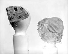 1847 linen cap, Met Museum