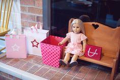 Details from an American Girl Doll Themed Birthday Party via Kara's Party Ideas! KarasPartyIdeas.com (13)