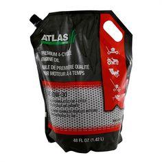 Atlas 490-000-B029 1.4 L SAE 10W-30 Premium 4-Cycle Engine Oil