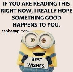 Best Wishes From Minions