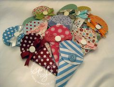 Scissor Pouches by Cristena - Cards and Paper Crafts at Splitcoaststampers