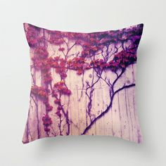 Ivy Throw Pillow by Elisabeth Fredriksson - $20.00