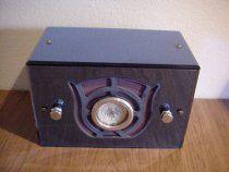 """Jackson Bell Blue Classic Tube Radio""!...  http://about.me/Samissomar"