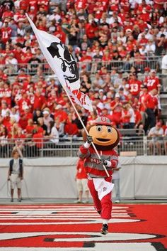Brutus Buckeye in the 'Shoe' :o)