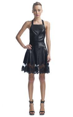 Apron Halter Combo Dress by Jason Wu - Moda Operandi