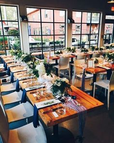 We we were lucky to be chosen to host a beautiful wedding yesterday! @epiceventsvan and @ourlittleflowercompany transformed our bistro and patio into a gorgeous setting fit for the bride & groom