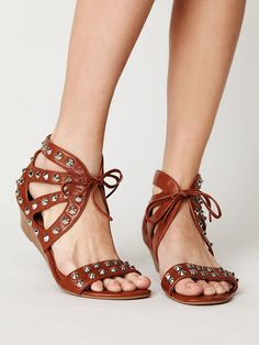 LOVE! Right up my alley...  Paige Studded Sandal by Jeffrey Campbell