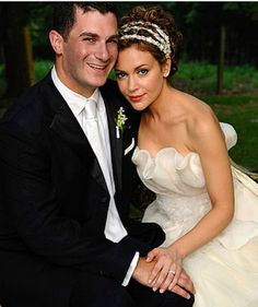Grown up now Alyssa Milano on her wedding day to Dave Bugliari on Aug 15th, 2009