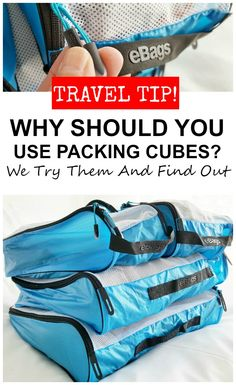 Have you ever wondered if you should use packing cubes? We test them out, and tell you the good and the bad. Best Packing Cubes, Packing Tips For Travel, Travel Advice, Traveling Tips, Carry On Luggage, Travel Luggage, Sensory Activities For Preschoolers, Colors For Toddlers, Best Travel Accessories