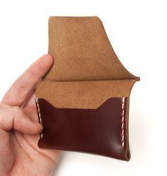Cardholder in Tan Chromexcel